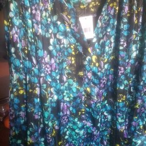 The Limited Floral Blouse